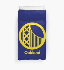 Oakland Warriors Concept Duvet Cover