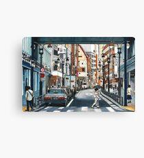 Tokyo Crossing Canvas Print