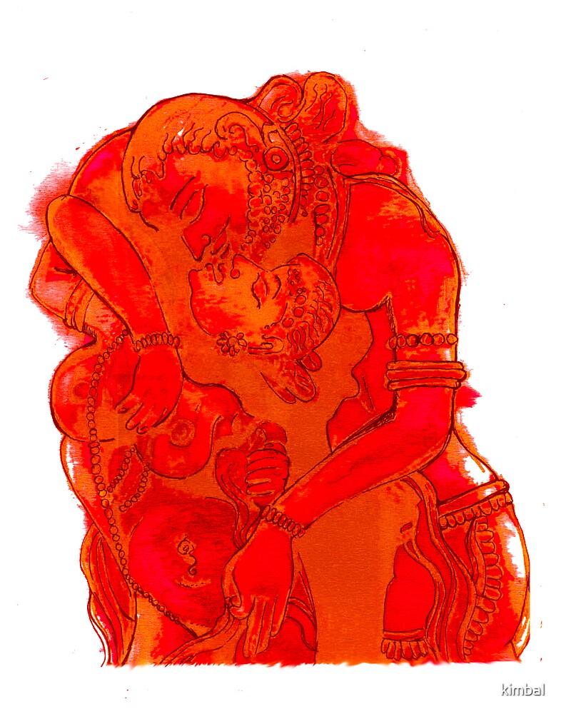Kissing Gods by kimbal