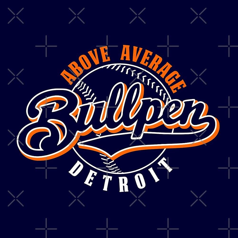 Detroit Bullpen by thedline