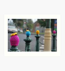 Quirky in the City Art Print