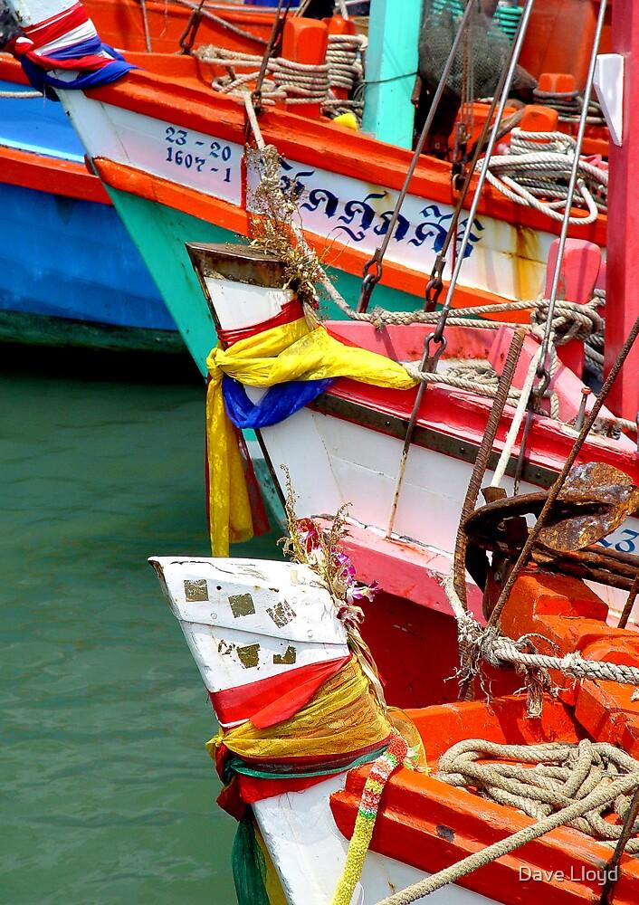 Fishing Fleet by Dave Lloyd