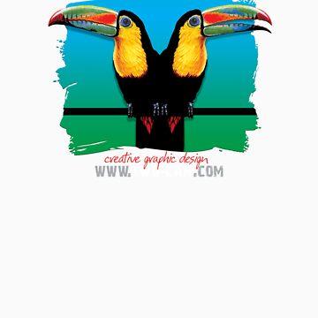 Toucans by colmar