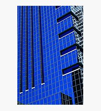 More Philly Blue Photographic Print