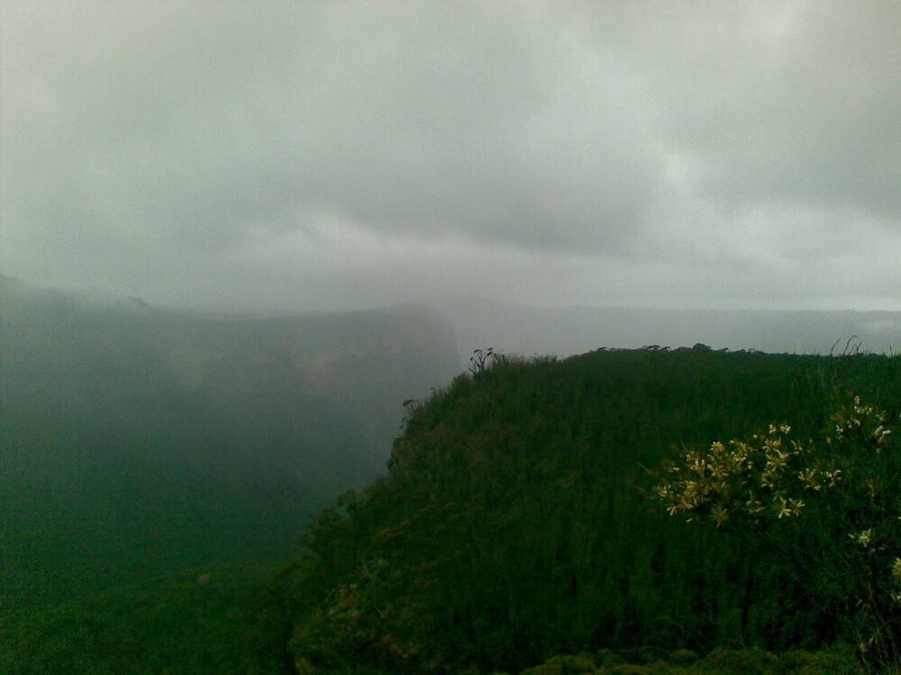 The Foggy Mount by davesophfinn