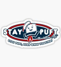 Stay Puft - Even When Toasted! Sticker