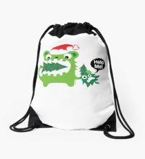 Help Me! Drawstring Bag