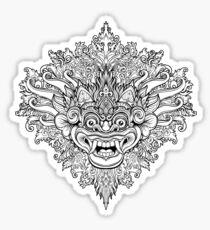 Barong 2 Sticker