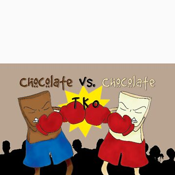Chocolate VS Chocolate by Celonia