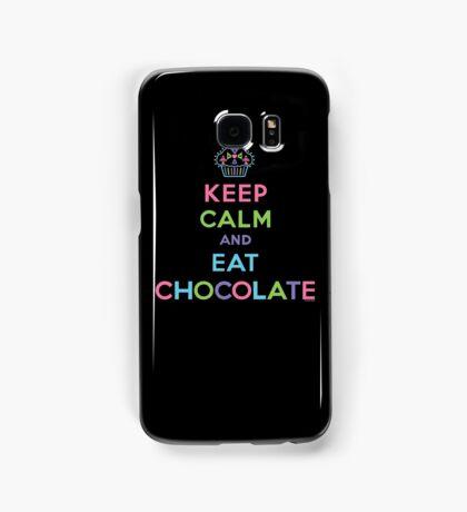 Keep Calm and Eat Chocolate   Samsung Galaxy Case/Skin