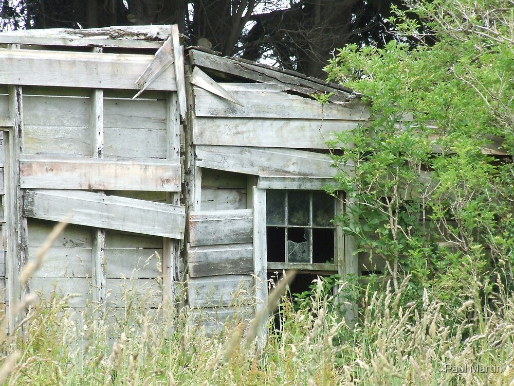 Memories of better days by Paul Martin