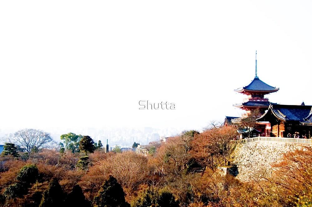 View from Kiyomizu by Shutta