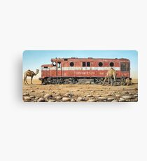 Remnants of the Old Ghan Line Canvas Print