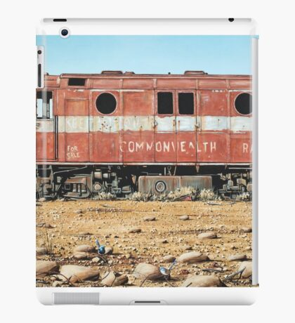Remnants of the Old Ghan Line iPad Case/Skin