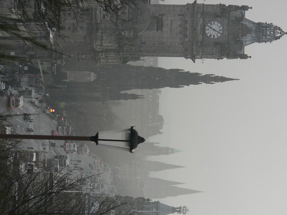 Royal Mile, Edinburgh by helmut