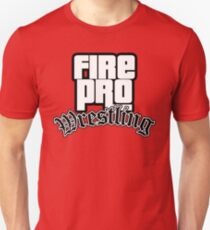Fire Pro Wrestling - SAN ANDREAS T-Shirt