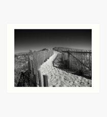 Trail through the Dunes Art Print