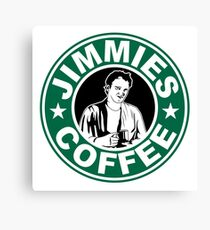 Jimmie's Coffee Canvas Print