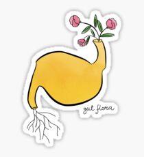 Gut flora literal design Sticker