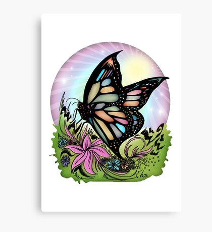 Butterfly Serenity Canvas Print