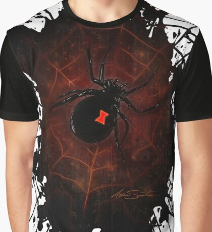 Black Widow (Signature Design) Graphic T-Shirt