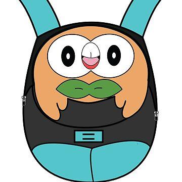 Pokemon Backpack Rowlet by KidCorgi
