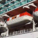 Cruise Ship Lifeboats by wiggyofipswich