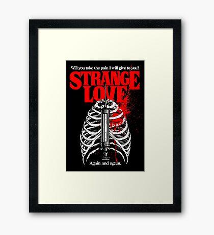 Strange Love Framed Print