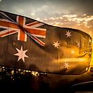 Australia Day Flag by Candice O'Neill
