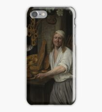 Jan Steen - The Baker Arent Oostwaard And His Wife, Catharina Keizerswaard, 1658 iPhone Case/Skin