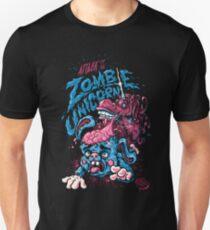 Attack of the Zombie & Unicorn! Unisex T-Shirt