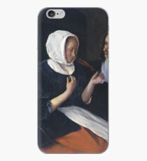 Jan Steen - A Couple Drinking, 1679 iPhone Case