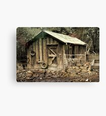 The Shed at Bella Vista Canvas Print