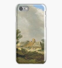 Jan Josephsz. Van Goyen - Dune Landscape With Cottage And Figures iPhone Case/Skin