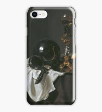 Jan Jansz. Treck - Still Life With Glass Of Wine, Pewter Jug And Other Objects iPhone Case/Skin
