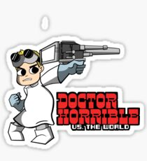 Dr. Horrible vs. The World Sticker