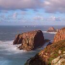 Land's End, Cornwall by Krzysztof Nowakowski