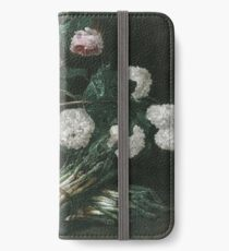 Jan Fyt - Vase Of Flowers And Two Bunches Of Asparagus iPhone Wallet