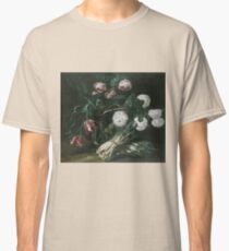 Jan Fyt - Vase Of Flowers And Two Bunches Of Asparagus Classic T-Shirt