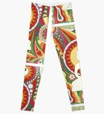 Vintage Psychedelic Buddha Leggings