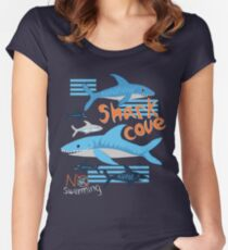 Shark cove Women's Fitted Scoop T-Shirt