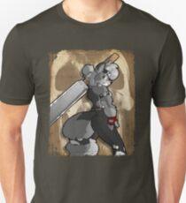 Big baddass wolf Unisex T-Shirt