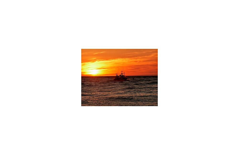 Chatham's Harbor Sunrise by Stephen Senter