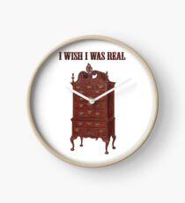 I Wish I Was Real Clock