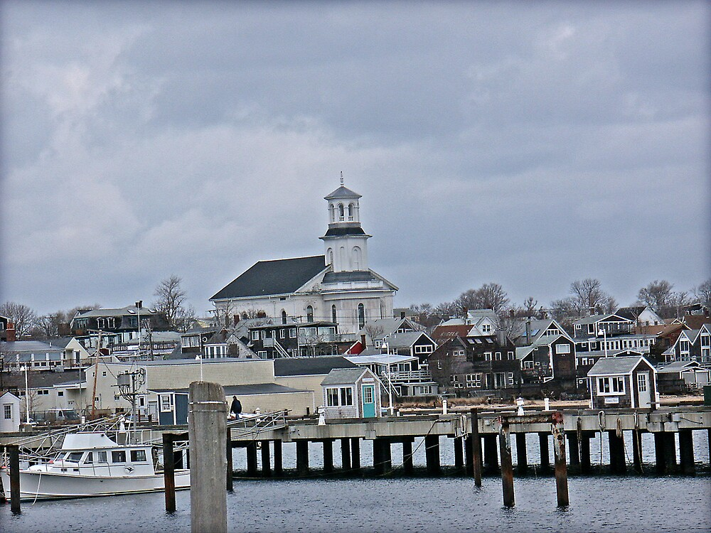 Church in Provincetown by Stephen Senter