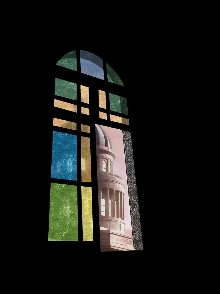 Church Window by Mike Connor