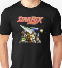 Star Fox (SNES) Title Screen Unisex T-Shirt