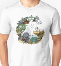 Ghibli World (Original Artwork) Unisex T-Shirt