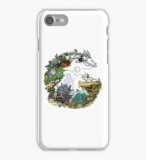 Ghibli World (Original Artwork) iPhone Case/Skin