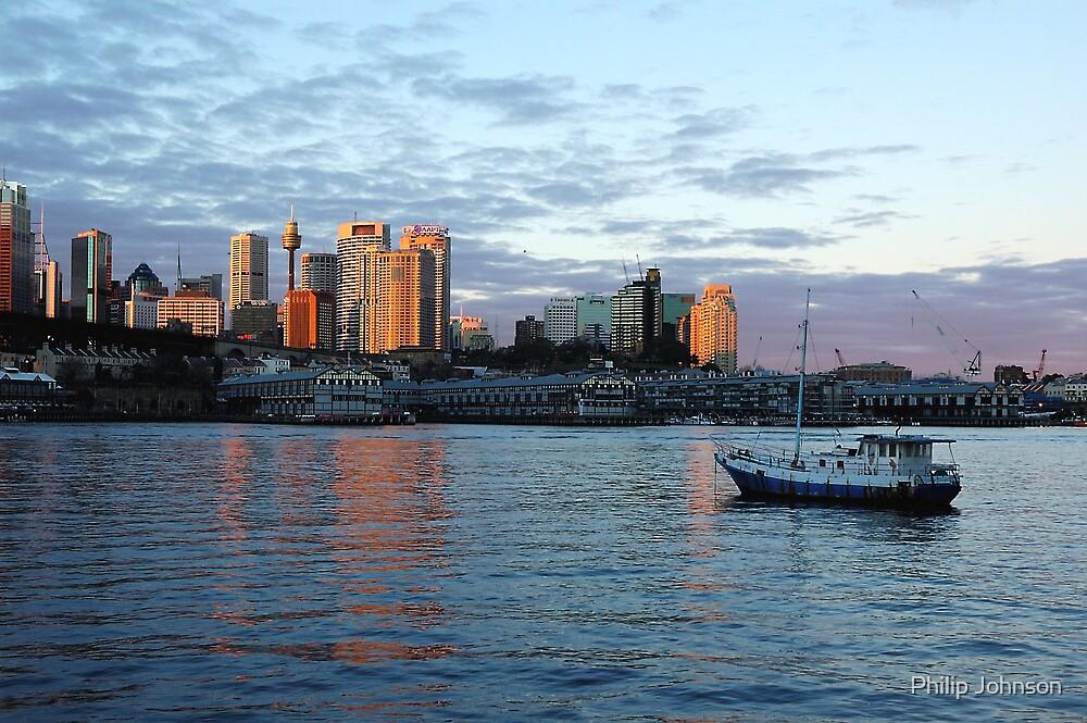 Good Mooring - Sydney Harbour, Sydney Australia by Philip Johnson
